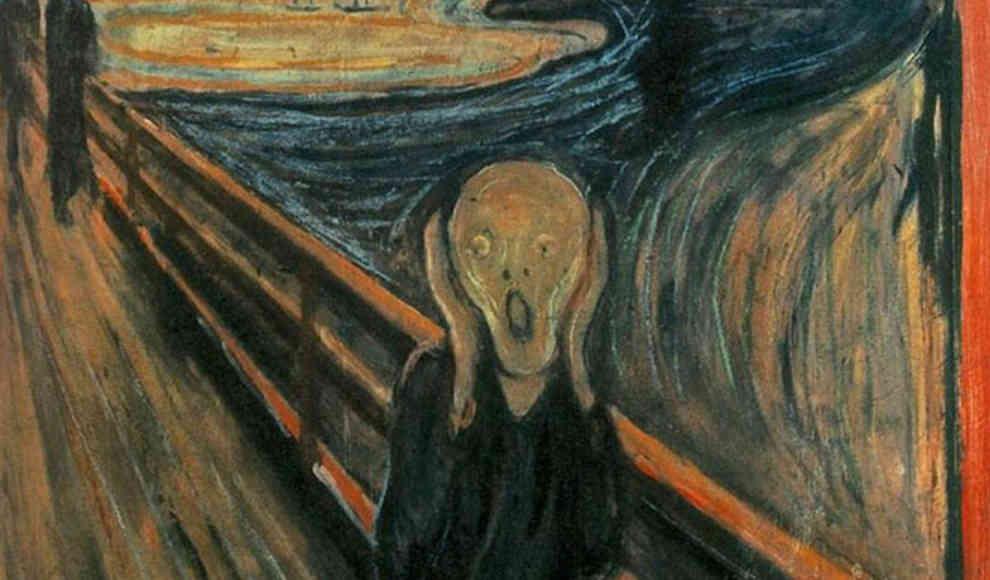 Rätsel um Flecken auf Munchs Gemälde Der Schrei gelöst