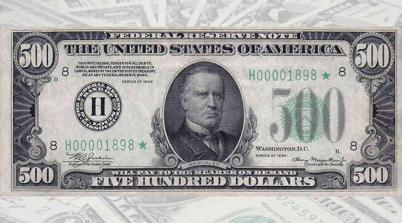 Welche Us Dollar Scheine Gibt Es