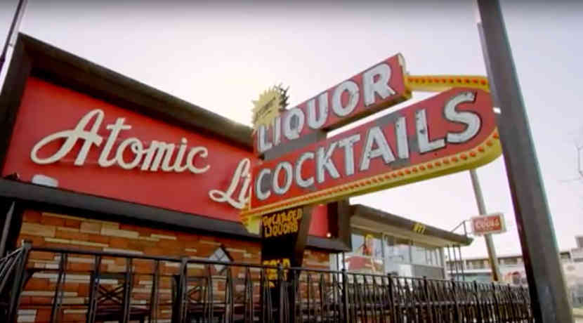 Atomic Liquor Cocktails