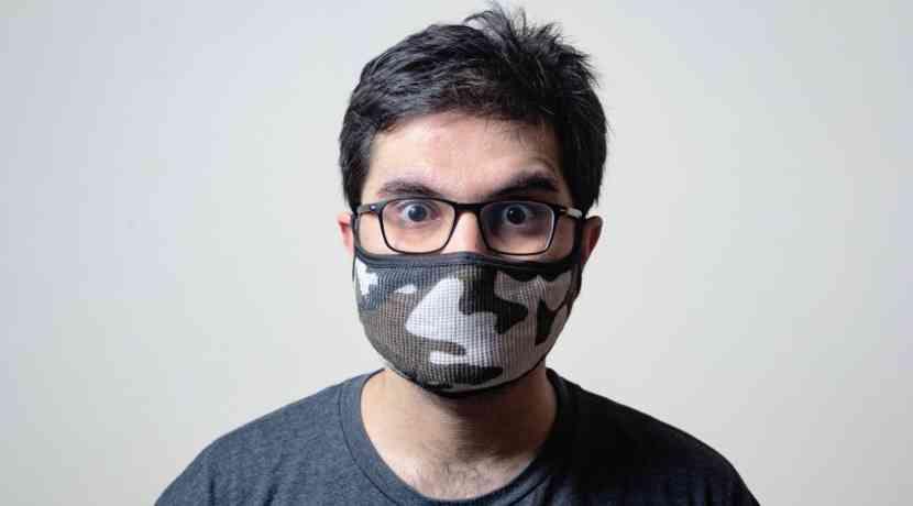 Corona Maske Brillenträger
