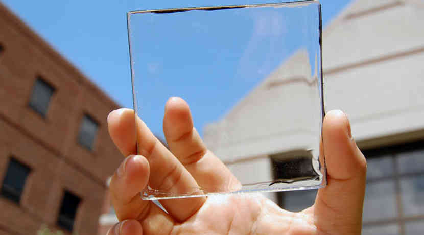 Transparente Solarzellen