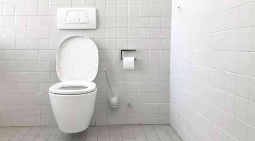 Toilette Nanobeschichtung