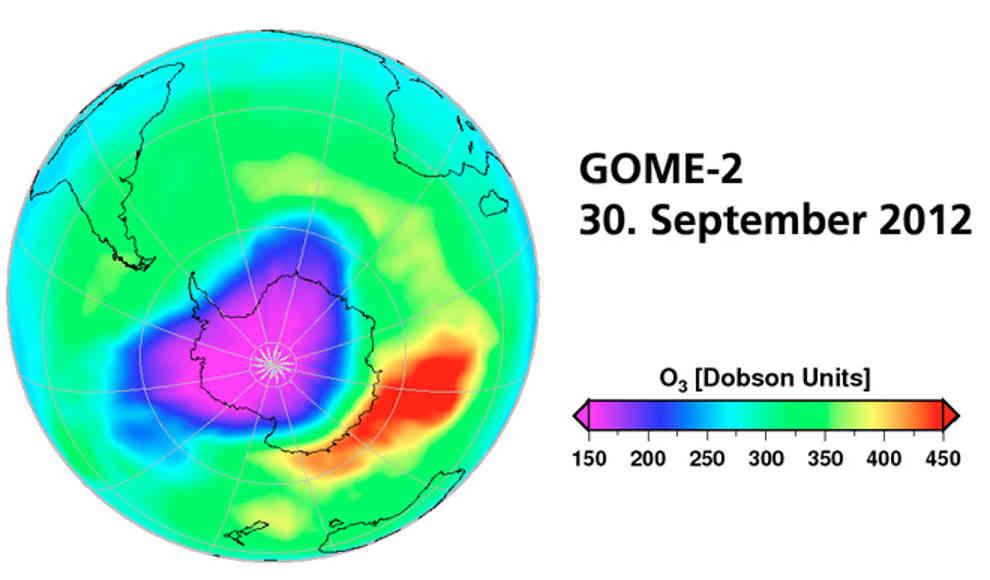 Ozonloch Geschlossen
